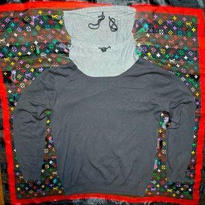 eno's designer sweater viscose nylon vintage 80s